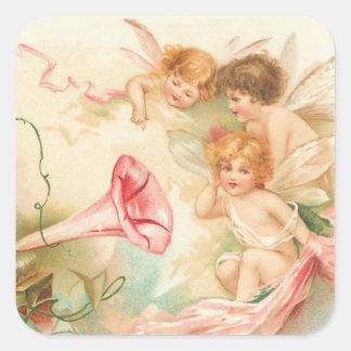 Cupid Angel´s I Square Sticker