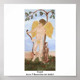 Cupid Anna T Benevides Art Addict Poster