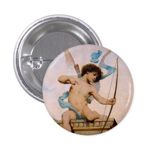 Cupid Pinback Buttons