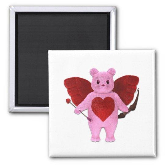 Cupid Bear Magnet