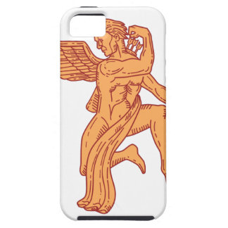 Cupid Bow Drawing Arrow Mono Line Case For The iPhone 5
