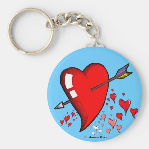 Cupid Calling Keychains