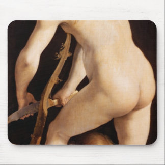 Cupid Carving a Bow, 1533/34 Mouse Pad