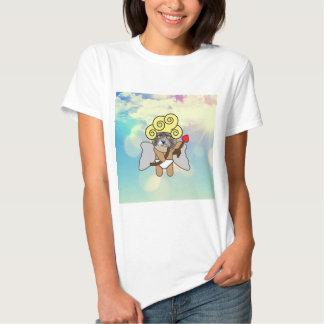 Cupid Cat Tee Shirt