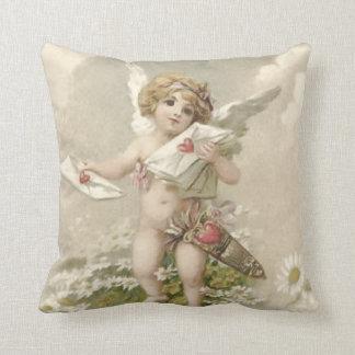 Cupid Cherub Angel Valentine Daisy Cushion
