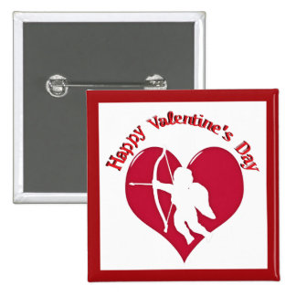 Cupid for Valentine s Day Button