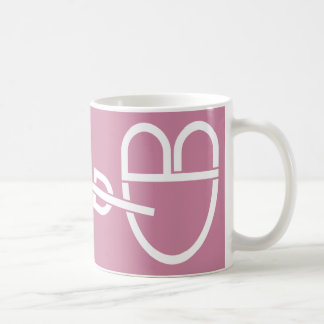 Cupid Heart and Arrow Puzzle Mug