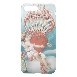 Cupid Heart Fire Kaleidoscope iPhone 7 Plus Case
