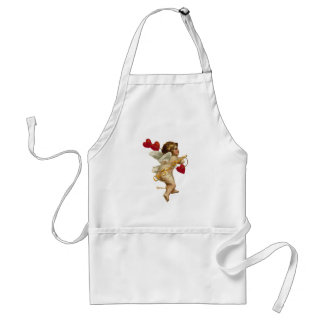 Cupid Hearts On a String Standard Apron