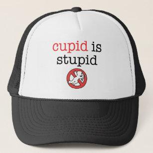 Cupid Is Stupid Anti-Valentine s Day Trucker Hat 7fd513944e9f