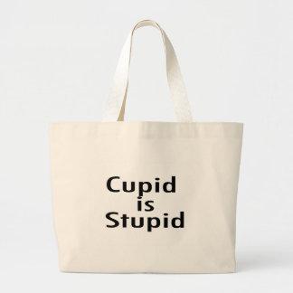 Cupid Is Stupid Jumbo Tote Bag