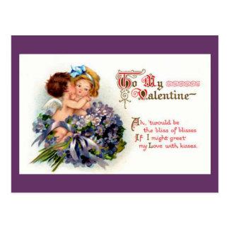 Cupid Kids Postcard