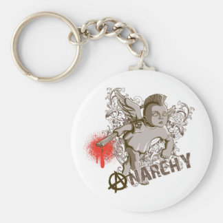 Cupid of Anarchy Keychain