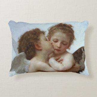 Cupid & Psyche as Children Decorative Cushion