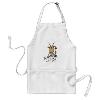 Cupid Reindeer Tshirts and Gifts Aprons
