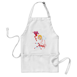 Cupid Shoots For The Heart Standard Apron