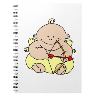 Cupid Spiral Notebooks