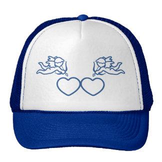 Cupid Strikes TWICE custom hat