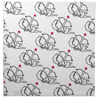 Cupid - taken napkin