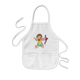 Cupid Takes Aim T-shirts and Gifts Kids Apron
