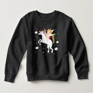 Cupid Unicorn Toddler Fleece Sweatshirt