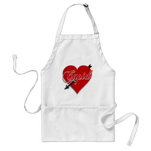 Cupid Valentine Gifts and Cupid Apparel Aprons