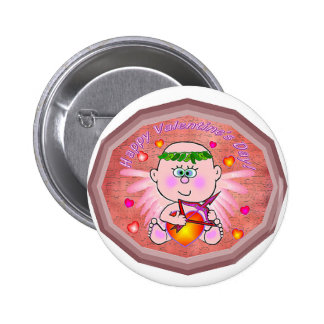 Cupid Valentine s Day Buttons