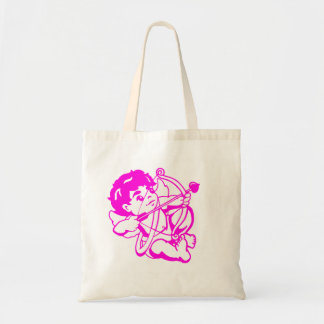 Cupido Amor in purple Budget Tote Bag