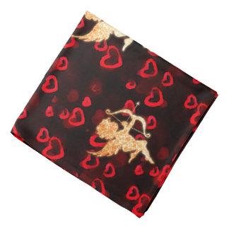 Cupids and Hearts Bandana