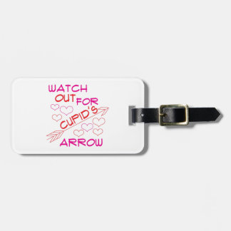 Cupid's Arrow Tag For Luggage