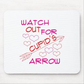 Cupid's Arrow Mouse Pad