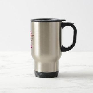 Cupid's Arrow Stainless Steel Travel Mug