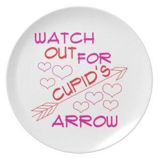 Cupid's Arrow Dinner Plates