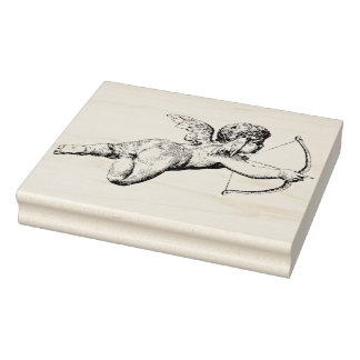 Cupid's Arrow Rubber Stamp