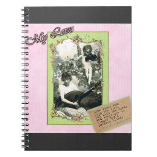Cupids Arrow Spiral Notebook