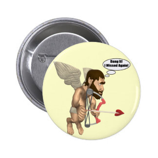 Cupid's Arrow T-shirts and Gifts Button
