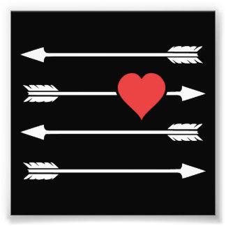 Cupid's Arrow Valentine's Day Heart Art Photo