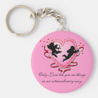 Cupids Heart Key Ring
