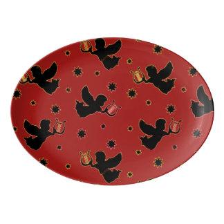 Cupids Porcelain Serving Platter