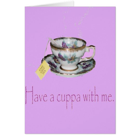 Cuppa Note Card
