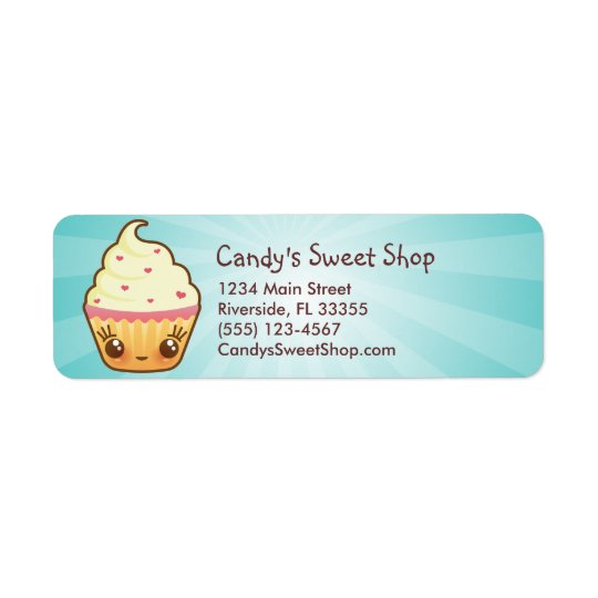 CuppyCake Address Label