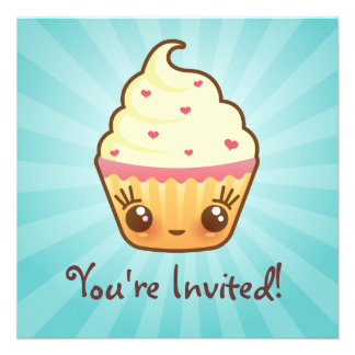 CuppyCakes Invitation