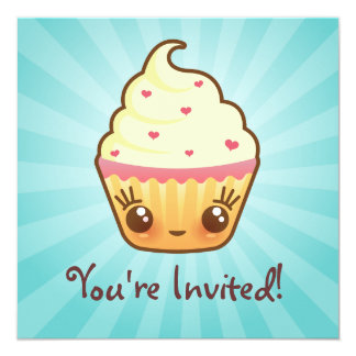CuppyCakes Invitation