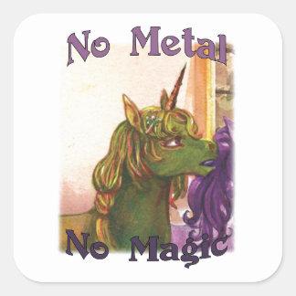 Cuprum No Metal No Magic Stickers