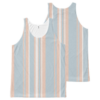Cups Medley blue stripes Unisex Tank