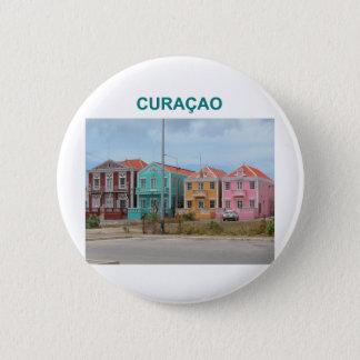 Curacao 6 Cm Round Badge