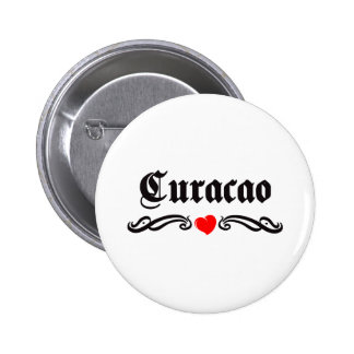 Curacao Pinback Buttons