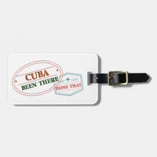 Curacao Been There Done That Luggage Tag