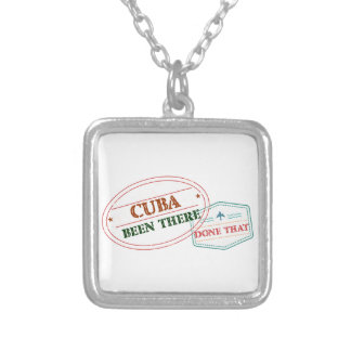 Curacao Been There Done That Silver Plated Necklace