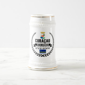 Curaçao Beer Stein
